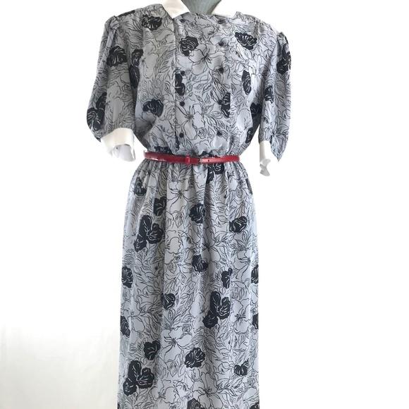 Vintage Dresses & Skirts - Vintage 80's Dress Office Work Made in USA